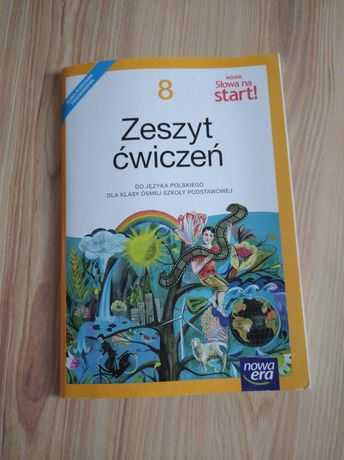 Sprzedam zeszyt ćwiczeń do języka polskiego 8 słowa na start nowa era