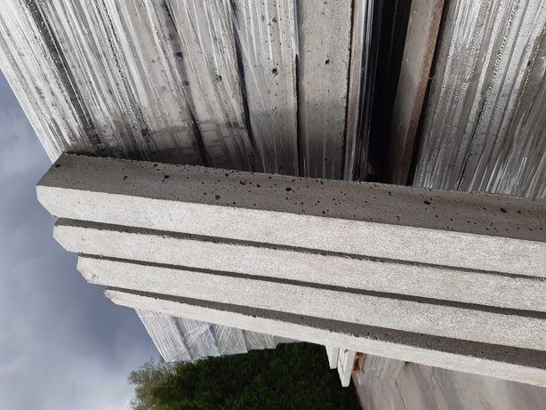 Słupki betonowe do siatki leśnej