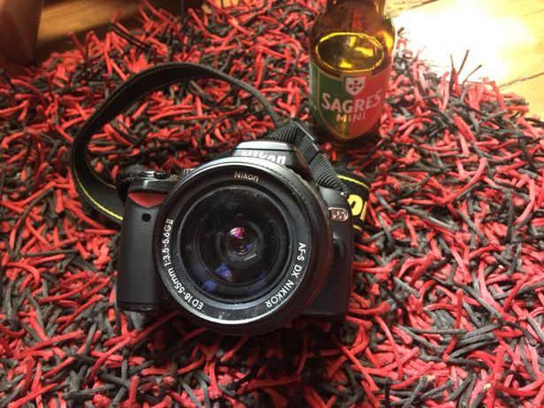 Nikon D60 + Objetiva