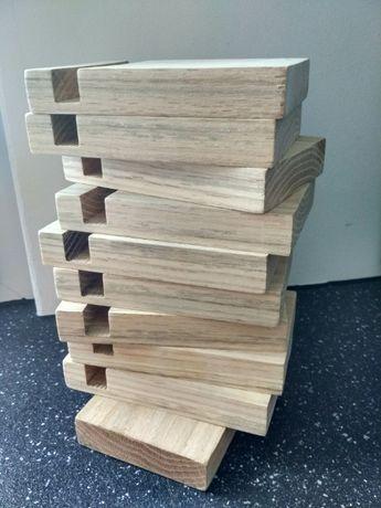 Stojak uchwyt na telefon smartfon dębowe drewno HIT