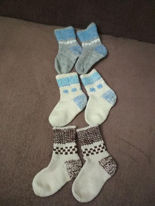 Носки теплые вязанные Киев - изображение 1