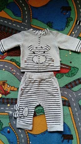 Zestaw COCCODRILLO rozm. 74 / Spodnie, bluza, kurteczka