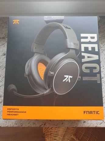Nowe Słuchawki gamingowe Fnatic REACT Headset