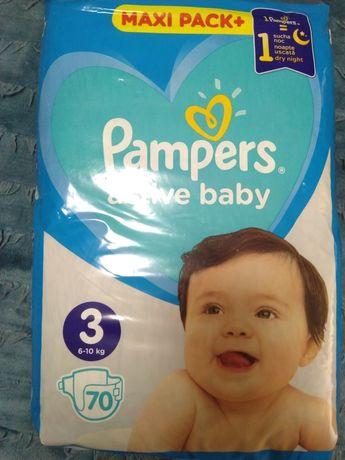 Памперсы Pampers 3 (active baby 70шт.)