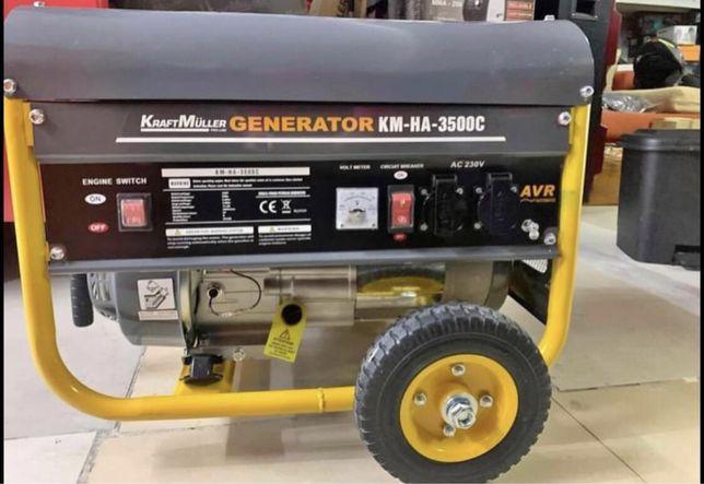 Gerador kraftmuller 3500w a gasolina
