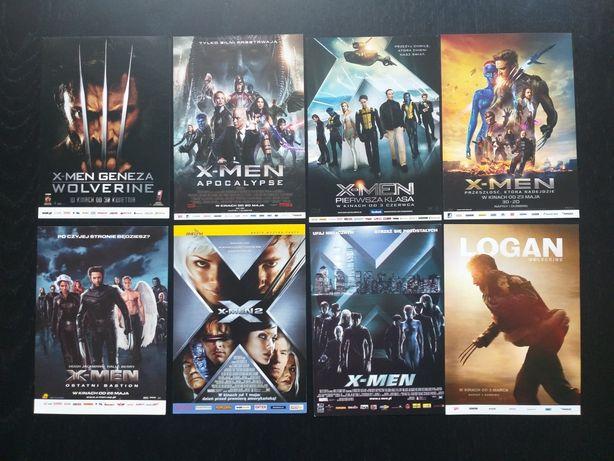 ULOTKI FILMOWE KINOWE wszystie ulotki z filmu X-men