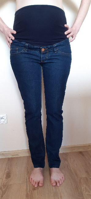 Jeansy ciążowe h&m 36