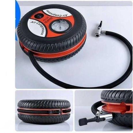 Компрессор Автомобильный Air Compressor DC12V для подкачки колес