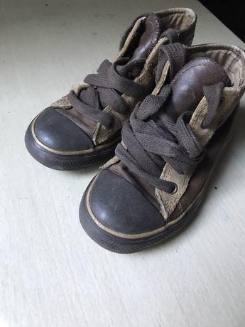 Высокие кеды на шнуровке Converse all star (ботинки)на дождливую осень