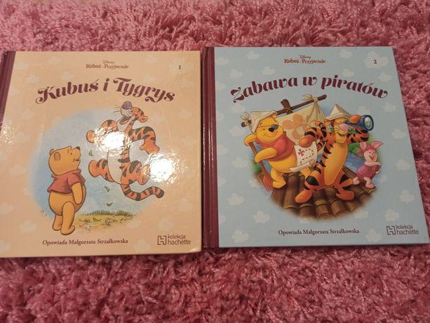 Książki z kolecji hachette Kubuś puchatek i przyjaciele