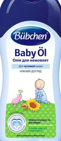 Олійка для младенцев Bubchen 200 мл