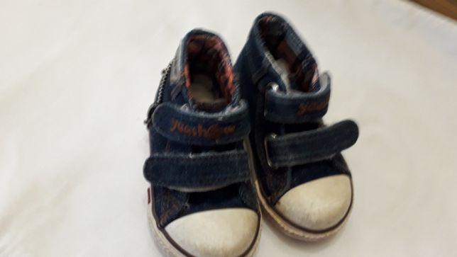 Детские ботиночки - кеди. Длина 14 см