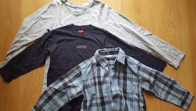 koszula t-shirt bluza spodnie 116-120
