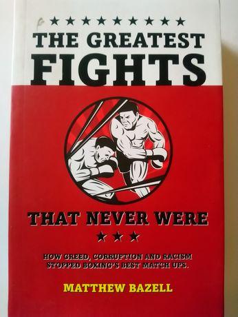 Книга The Greatest Fights на англійській мові