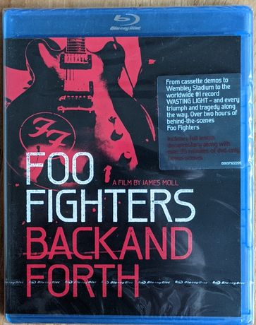 Foo Fighters Back And Forth bluray
