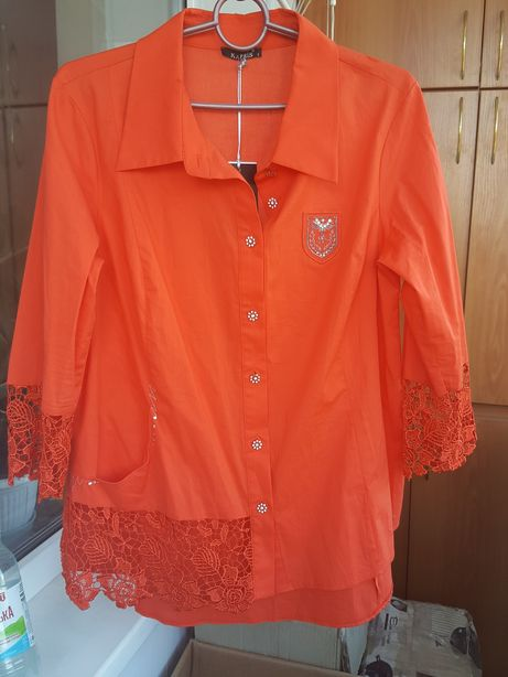 Новая турецкая шикарная блузка р.50-52