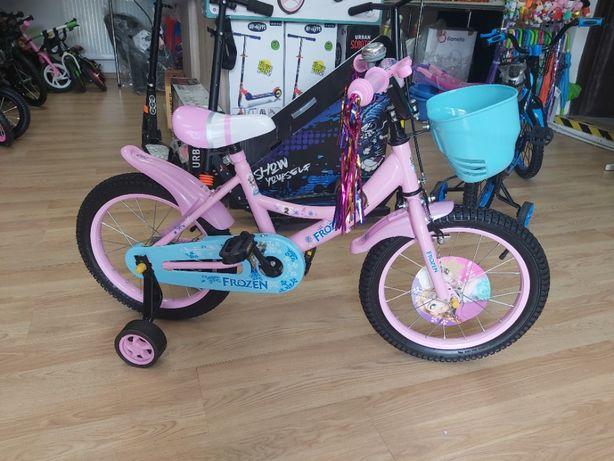 Nowy rowerek,rower dla dziewczynki 4-6 lat,koła 16 cali ,Elsa ,WYSYŁKA