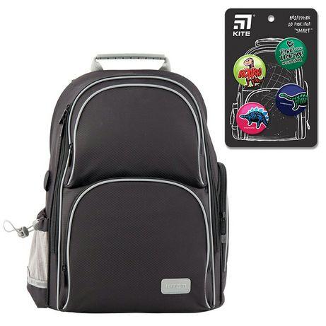 Рюкзак шкільний Kite Education K19-702M-4 Smart чорний