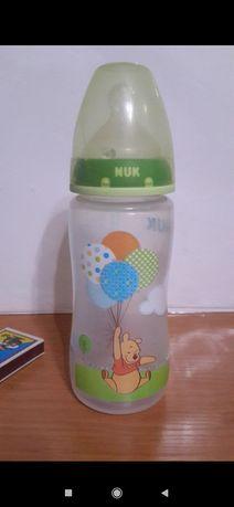 Бутылочка NUK 300 ml с соской с антиколиковым клапаном, Германия
