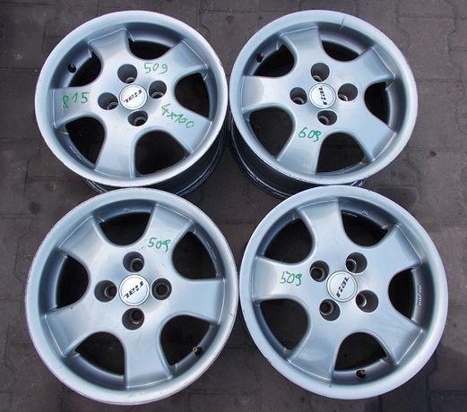 Felgi aluminiowe Rial 4x100 7Jx15 ET37 Nr.509