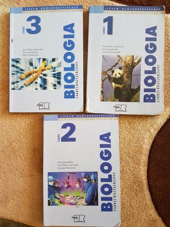 Biologia MAC, Zakres rozszerzony - podręcznik, klasa 1 -3, liceum