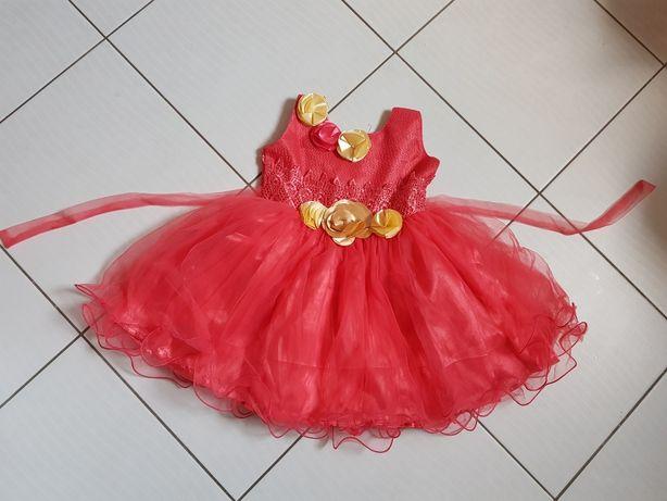 Nowa sukienka wizytowa okolicznościowa rozmiar 98