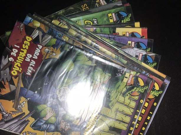 Coleção completa incrivel hulk