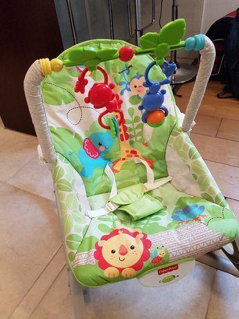 bujaczek leżaczek wibrujące krzesełko dla maluszka Fisher Price