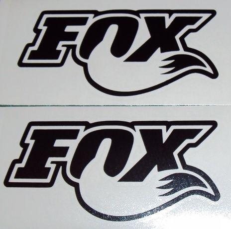 Fox autocolantes bicicleta