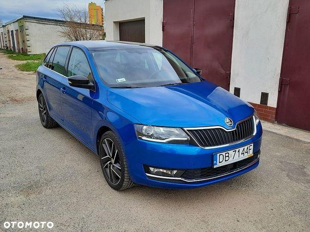 Škoda RAPID mod 2018 110KM salon PL 1wł Max wyp. Ksenon, Panorama REZERWACJA