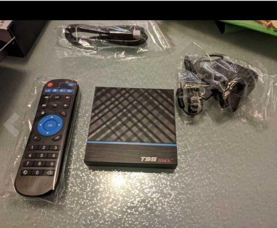 Box Android T95 Max Plus (QuadCore S905X3, 4GB + 32GB, Dual WIFI)
