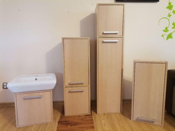 Szafki łazienkowe - komplet