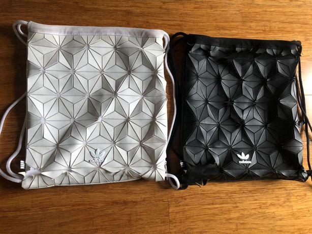 Plecak worek adidas efekt 3D  2szt
