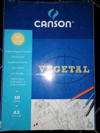Papel vegetal A3 - canson