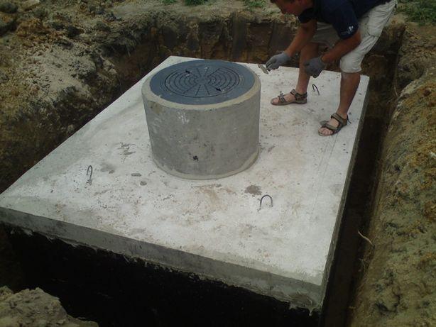 SZAMBA betonowe Szczelne. Zbiorniki na SZAMBO z Montażem i WYKOPEM