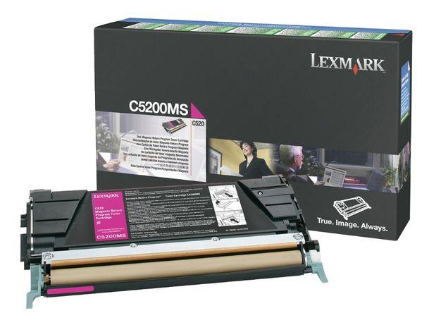 Toner Lexmark c5200ms Magenta