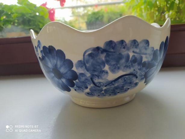 Misa wazon do ikebany ceramika fajans