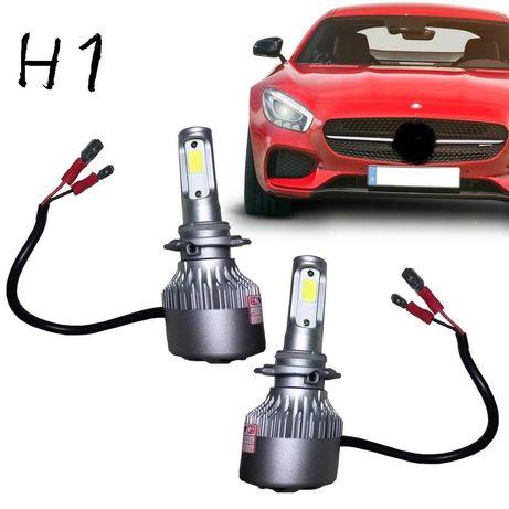 Pare de Lâmpadas LED  H1  6500K/ entrega imediata
