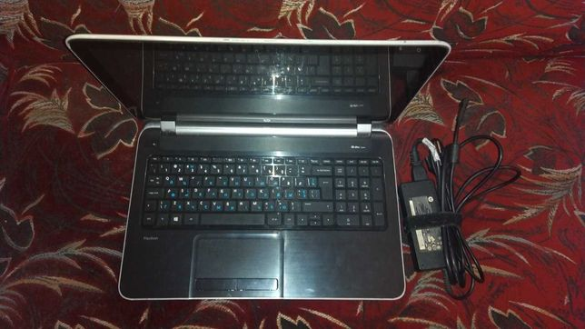"""Игровой,сенсорный ноутбук HP 15-n028er-8гб озу,1тб,15,6"""",2гб видео"""