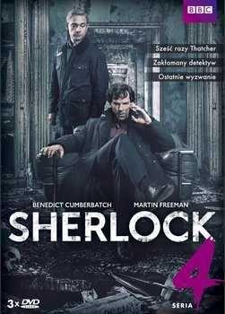 Sherlock seria 4 DVD Nowa z folia