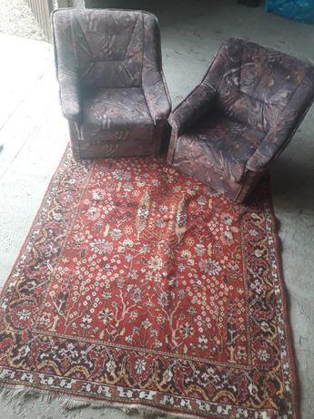 Fotele..dywan...