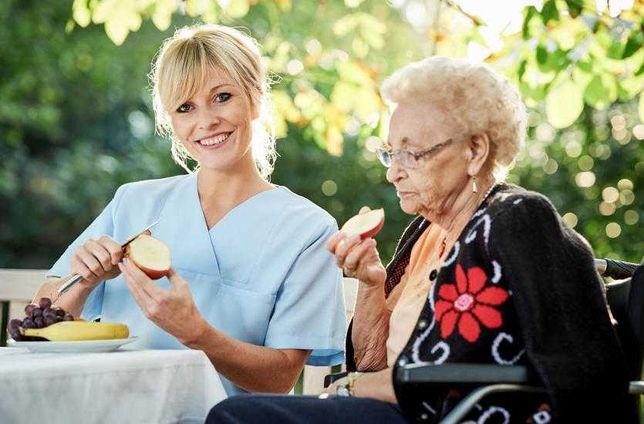 Opiekunka do osób starszych
