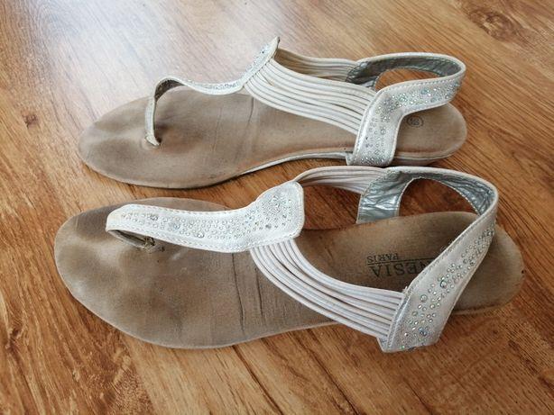 Sandałki damskie r. 39