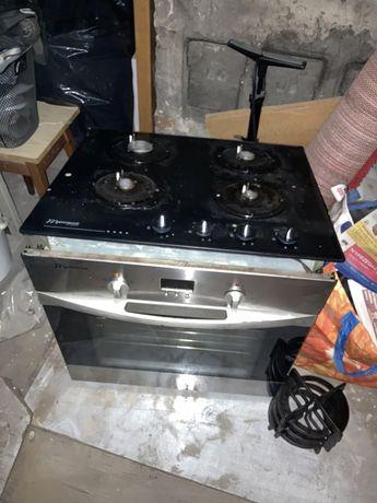 Piekarnik pod zabudowe plyta gazowa mastercook