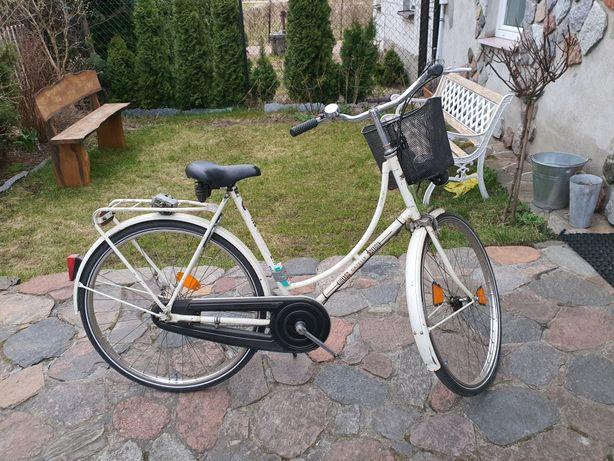 Rower z koszykiem Gazelle org Niemiecki