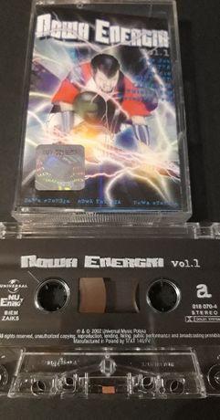 Nowa Energia Vol. 1, 2002 r. ROCK na kaseta magnetofonowa