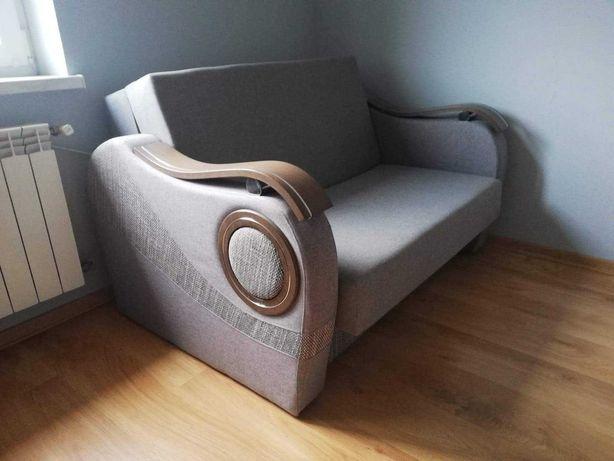 Zetaw mebli z fubkcjia spania sofa i 2 fotele