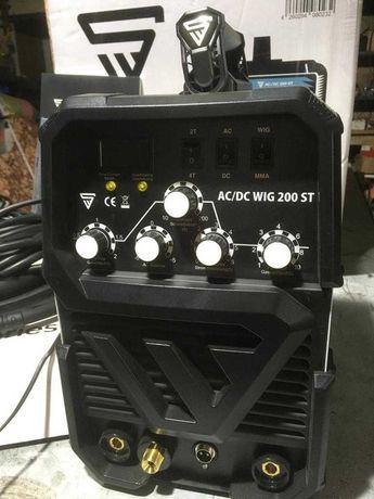 Maquina soldar STAHLWERK  ac/dc wig 200 st  IGBT
