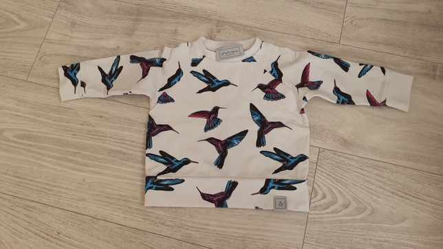 Zestaw bluzka i spodnie rozmiar 62-68 BOBOCIACH