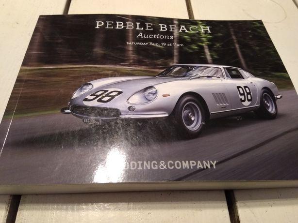 Katalog, prospekt , Pebble Beach Auctions